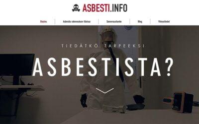 Asbesti.info – jo viisi vuotta asbestitietoutta